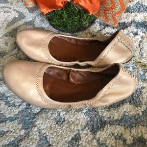Lucky Brand Emmie Nude Flats Size 7
